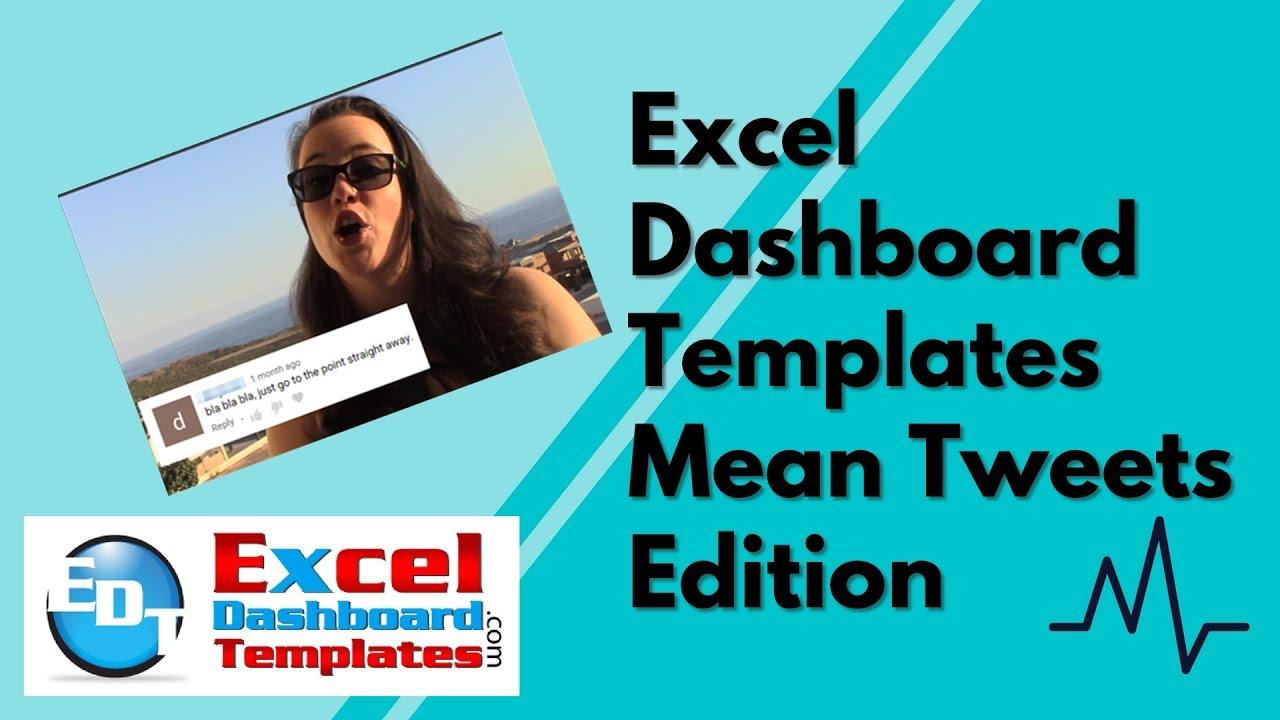 Mean Tweets - Excel Dashboard Edition