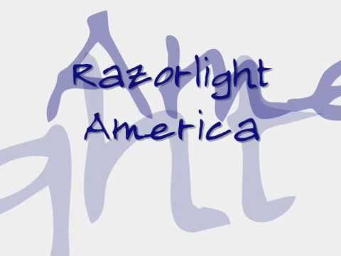 Razorlight - America with lyrics