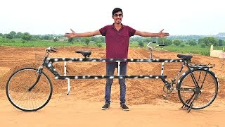 We Made 12 Feet Long Bicycle | 100% Working- Blade XYZ |