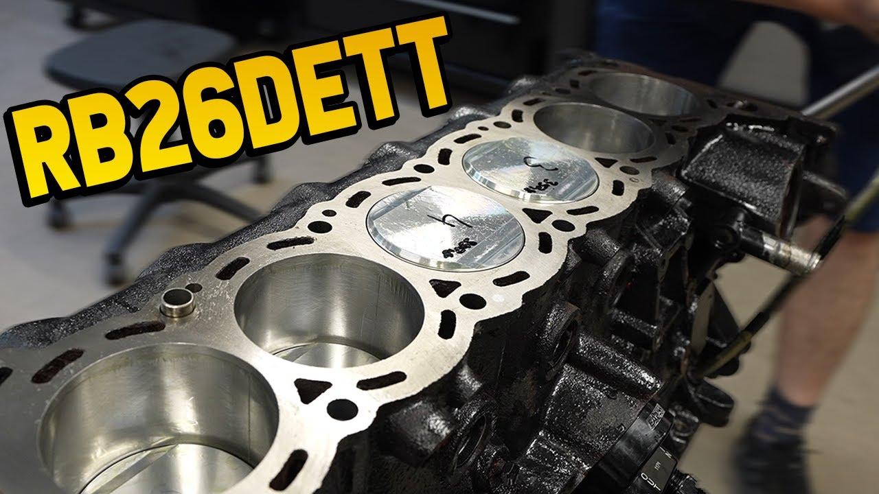The RB26 Engine-Build | ASMR | Part 1l Subi-Performance