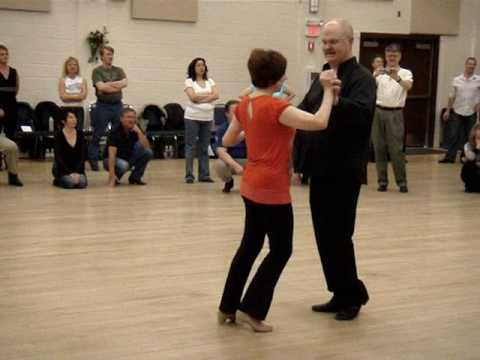 Buddy Schwimmer Beginner West Coast Swing in Edmonton Jan 31 2009