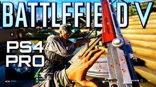 Battlefield 5: Rotterdam PS4 Pro Multiplayer Gameplay (Battlefield V Beta)