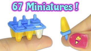 Miniatures Collection - Compilation of YolandaMeow ♡ DIYs