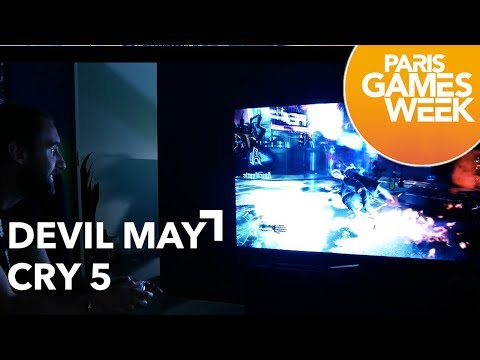 [Paris Games Week 2018] Devil May Cry 5 - Gameplay Test thumbnail