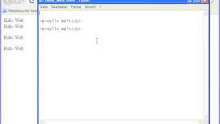 Gambar cover Kapitel 1, Episode 1: Erstes arbeiten mit HTML