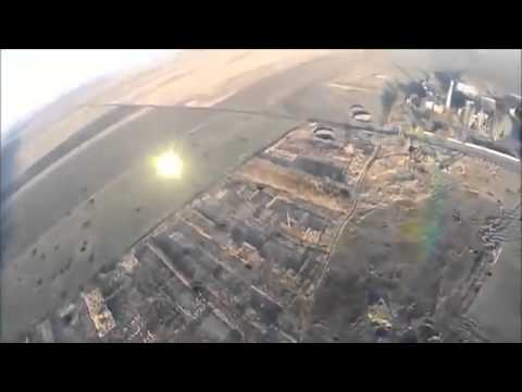 Ukraine War ~ Drone footage shows the war torn remains of Donetsk airport