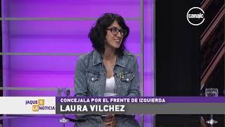 """Laura Vilches: """"Queremos proponer la estatización del servicio de transporte"""""""