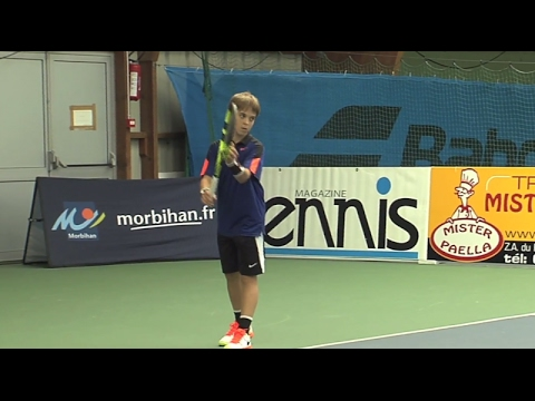 Auray: Open Super 12 Tennis 2017 - TV Quiberon 24/7