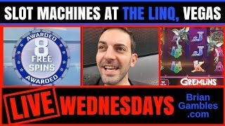 LIVE* Gambling at The Linq in Las Vegas ✦ Recorded LIVE ✦ Gremlins ...