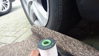 Fuel Filter replacement - Servicing Car