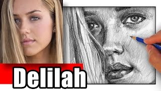 How to Draw Delilah Hamlin