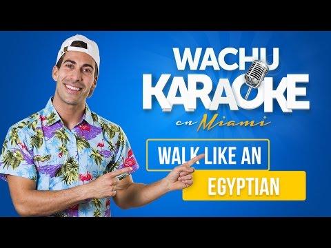 Walk like an Egyptian (Me huele a pizza) | Wachu Karaoke Comercial de Open English