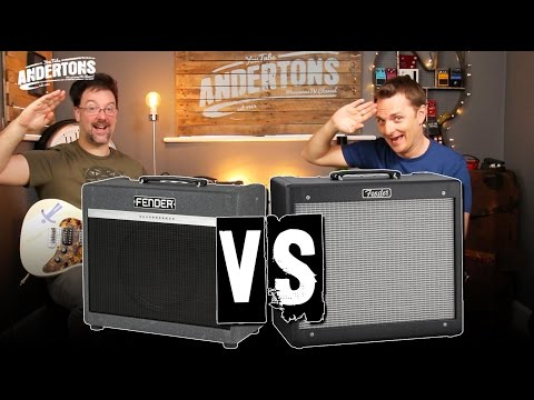 Fender Blues Junior vs Bassbreaker 15 - Who's the Daddy???