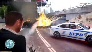 GTA 4 - War with Police
