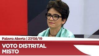 Alê Silva avalia voto distrital misto