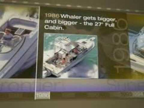 Boston Whaler Timeline Video