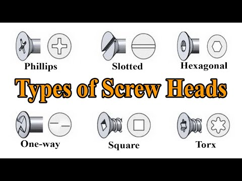 Screwdriver Types - Types of Screw Heads - YouTube