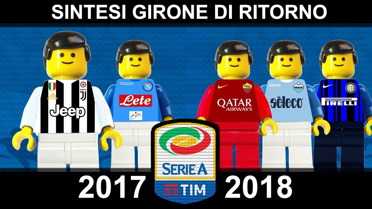 Goal Collection e Sintesi Serie A 2017/18 Lego Calcio 2018 • Film Lego Football Highlights