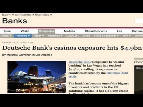 Deutsche Bank Vegas Exposure Equals Eurozone