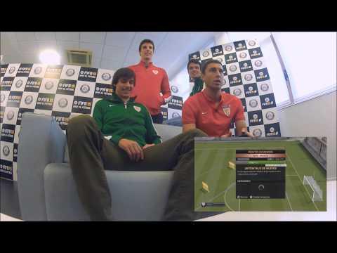 FIFA 15 Regates avanzados. Iturraspe y De Marcos