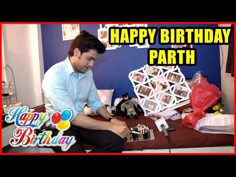 Parth Samthaan Celebrates His Birthday With Telly Bytes | #ParthSamthaan