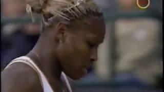 Serena Williams vs Daniela Hantuchova 2002 Wimbledon Highlights