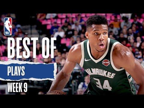 NBA's Best Plays From Week 9   2019-20 NBA Season