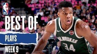 NBA's Best Plays From Week 9 | 2019-20 NBA Season