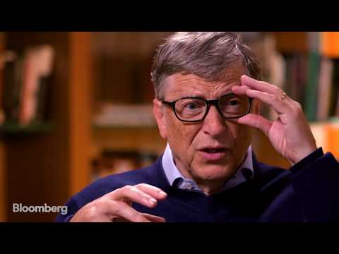 Bill Gates Full Interview - The David Rubenstein Show - 17 Oct 16  | Gazunda