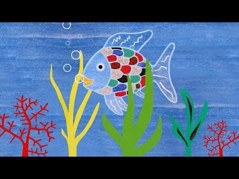 Wax Resist Painting: The Rainbow Fish