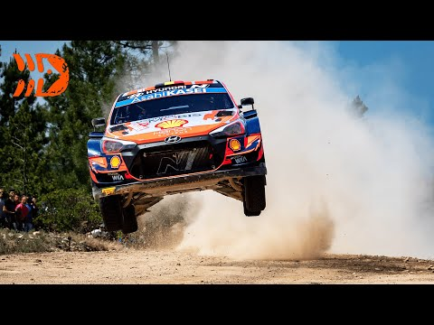Best of WRC Rally Italia Sardegna 2021 | Crashes, Action, Max Attack