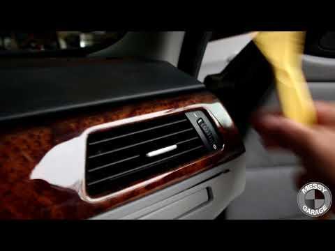 BMW E90 Interior Trim Removal And Vinyl Wrap Part 1