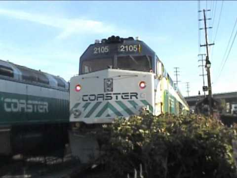 Coaster Trains Meet at Old Town - 2003