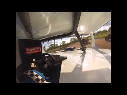 Ben Chapman Jackson County Speedway Heat 5.11.13