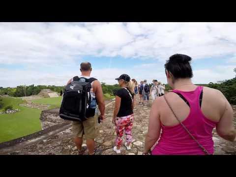 Ancient Mayan Ruins at Altun Ha & The Old River, Belize