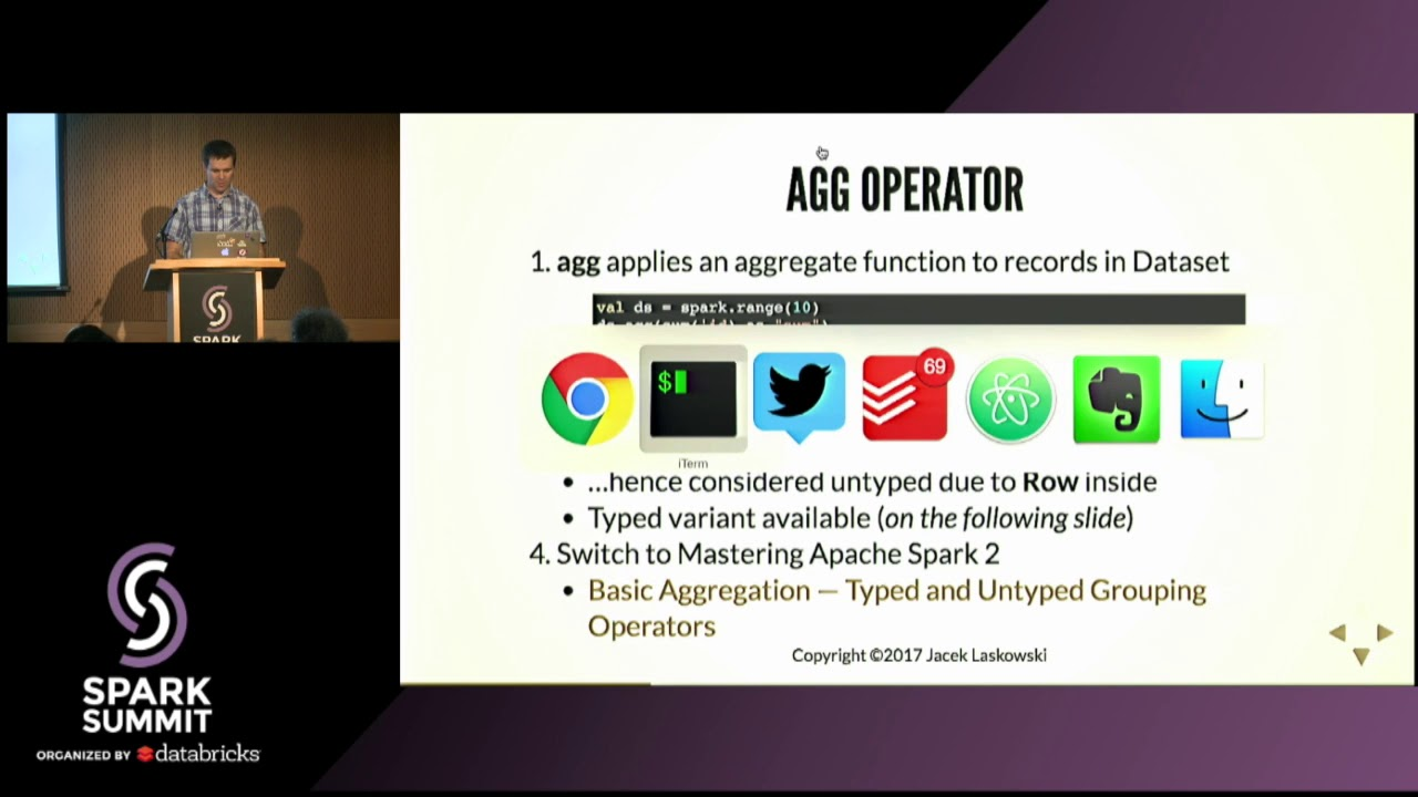 From Basic to Advanced Aggregate Operators in Apache Spark SQL 2 2 by  Examples with Jacek Laskowski
