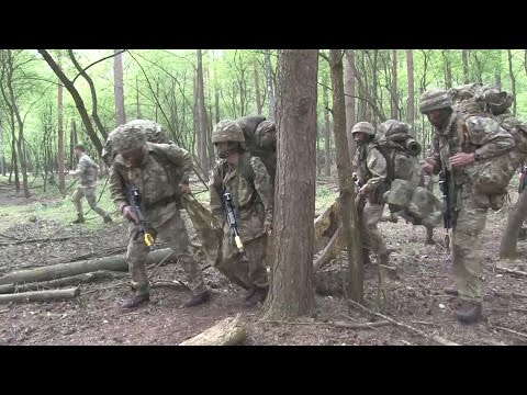 Future Leaders Of The Army Put To The Test In Germany | Forces TV