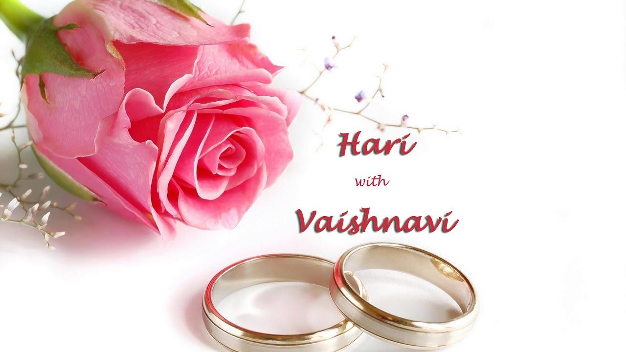 Hari with Vaishnavi - Engagement - YouTube