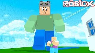 Nous sommes devenus des hommes géants et chassé les gens! - Roblox Giant Survival 2 avec Panda