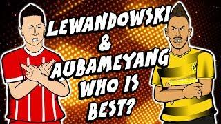 Lewandowski & Aubameyang