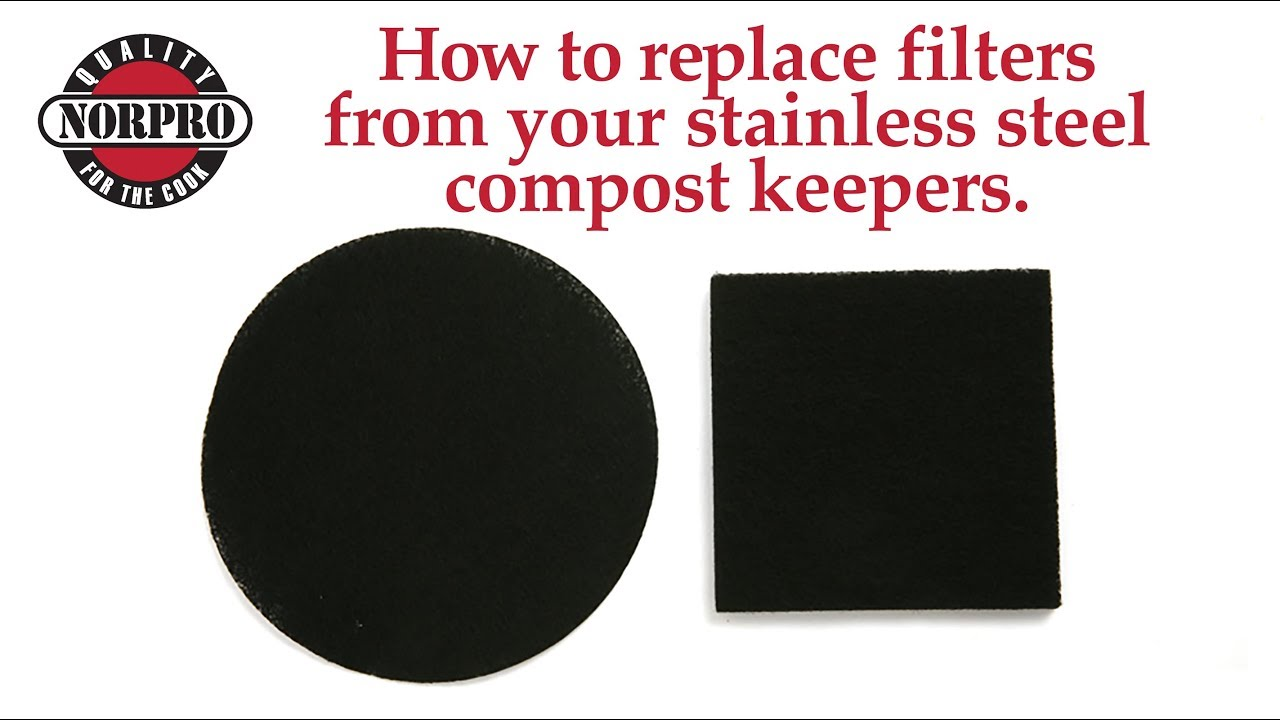 Norpro EZ Grip Stainless-Steel Compost Keeper