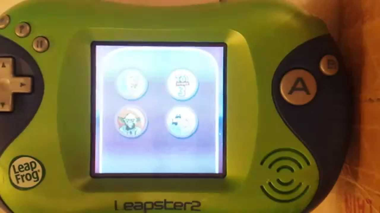 leapfrog leapster 2 demo store cartridge youtube rh youtube com Amazon Leapster 2 Leapster 5