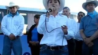 LILIANA VILLAREAL ACOMPAÑA A BORRUEL EN LA JUNTA CHIHUAHUA.