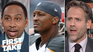 Stephen A: Jameis Winston should be tested by Buccaneers before getting big contract | First Take