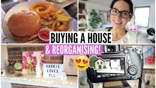 buying a house behind the scenes reorganising