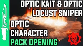 OPTIC KAIT & OPTIC LOCUST SNIPER! - Gears of War 4 Gear Packs Opening - OPTIC CHARACTERS & WEAPONS!