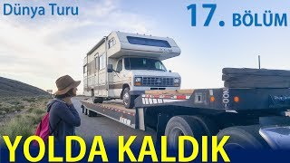 OUR RV BROKEN DOWN ON THE ROAD   TOUGH MOMENTS IN DEATH VALLEY   17.bölüm