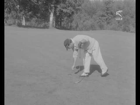 """La gara di golf """"Lancia d'oro"""" (1965)"""