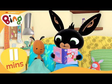 Bing - Looking After Flop   Bing Stories Compilation   Cartoons For Kids   Bing Bunny