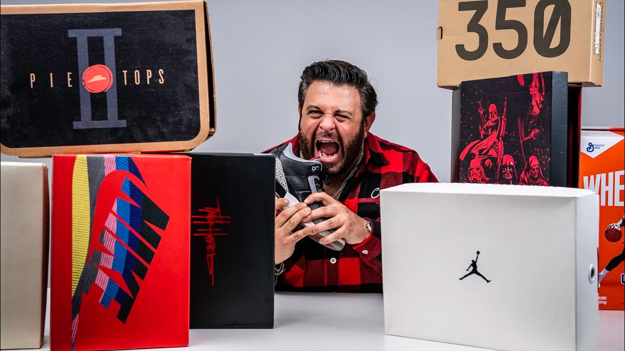 UNBOXING My SNEAKER COLLECTION with ADAM RICHMAN
